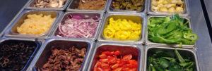 veggie toppings for pizza